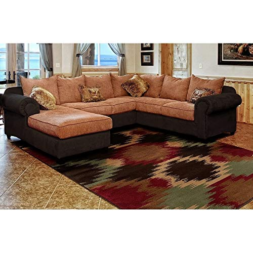 Westfield Home Hollyhock Aspen Multi Area Rug - 5'3 x 7'2 from by Westfield Home