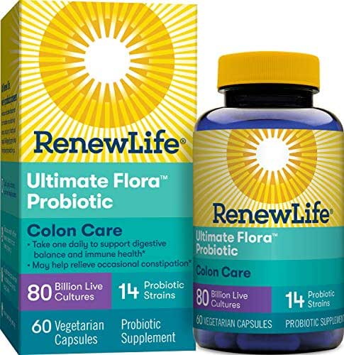 Probiotics: ReNew Life Ultimate Flora Colon Care