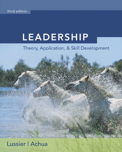 Leadership (with InfoTrac)