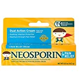 Neosporin + Pain Relief Cream 0.5 oz (Pack of 6)