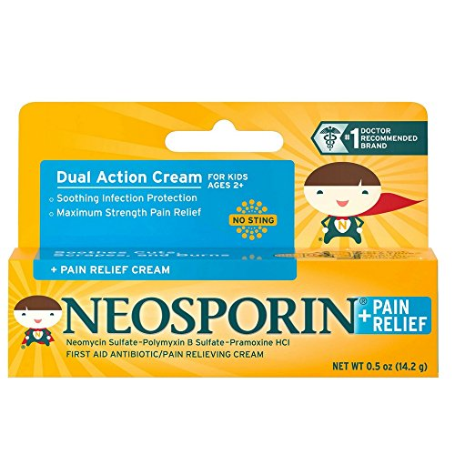 Neosporin + Pain Relief Cream 0.5 oz (Pack of 6)  Review