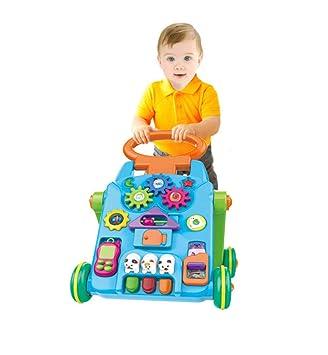 HWQ Bebé Walker Trolley Juguetes, Multi-Funcional ...