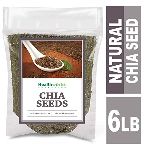 Healthworks Chia Seeds Raw 6 Pound