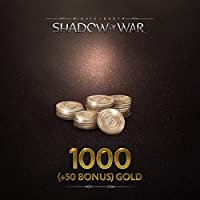 Middle-Earth: Shadow Of War: Middle-Earth: Shadow Of War 1000 (+50 Bonus) Gold - PS4 [Digital Code]