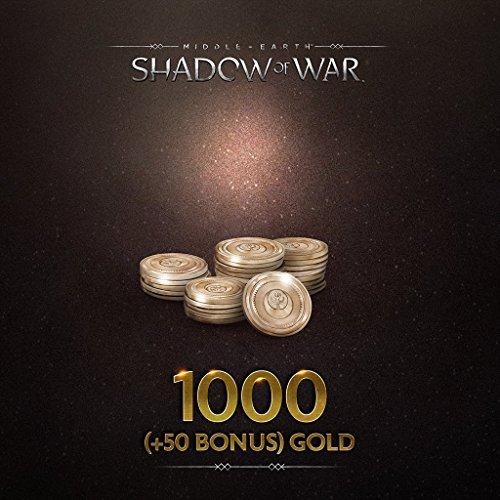 Middle Earth  Shadow Of War  Middle Earth  Shadow Of War 1000   50 Bonus  Gold   Ps4  Digital Code