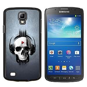 TECHCASE---Cubierta de la caja de protección para la piel dura ** Samsung Galaxy S4 Active i9295 ** --Cráneo golpe Juego