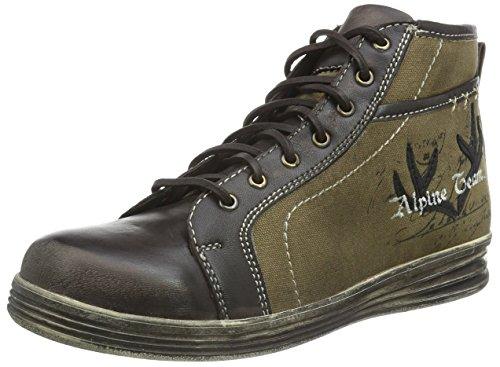 Stockerpoint Herren Schuh 1295 Hohe Sneakers, Braun (Braun Vintage), 40 EU