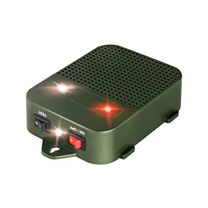 Amazon.com: Glaobule Under Hood Rodent Repeller Battery ...