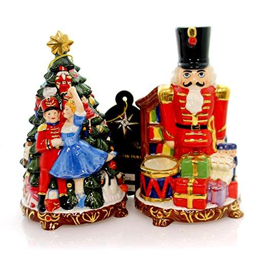 - Christopher Radko NUTCRACKER SUITE S & P Ceramic Christmas Tabletop Sat Pepper