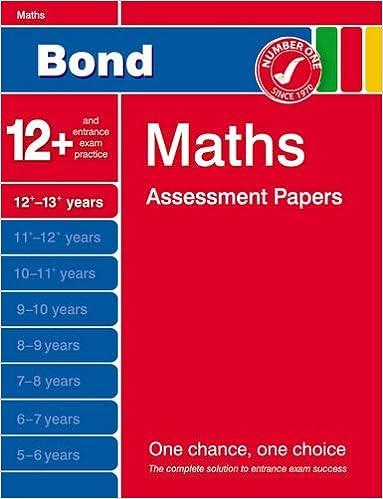 Bond maths assessment papers 12 13 years amazon david bond maths assessment papers 12 13 years amazon david clemson 9781408517185 books ibookread ePUb