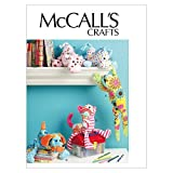 sewing craft patterns - McCall's Patterns M6485 Stuffed Animals, One Size Only