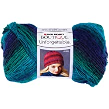 Coats: Yarn Red Heart E793.3935 Boutique Unforgettable Yarn, Dragonfly