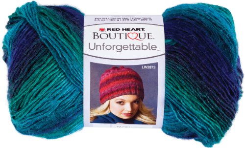 Soft Acrylic Yarn (Red Heart  Boutique Unforgettable Yarn,)