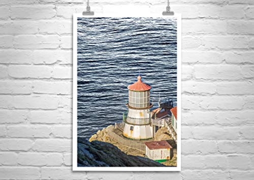 Point Reyes Lighthouse Photograph, Marin County Picture