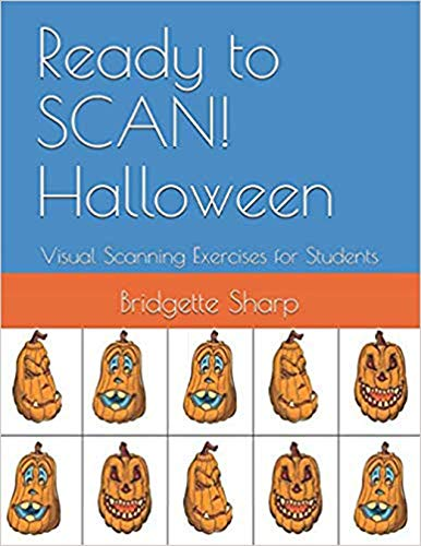(Ready to SCAN! Halloween: Visual Scanning Exercises for)