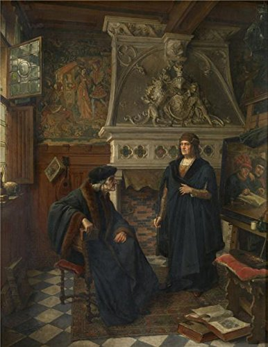 [The High Quality Polyster Canvas Of Oil Painting 'Siberdt Eugene,Erasmus And Quentin Matsys,1851-1931' ,size: 18x23 Inch / 46x59 Cm ,this Beautiful Art Decorative Canvas Prints Is Fit For Kids Room Artwork And Home Gallery Art And] (Gumdrop Fairy Costume)