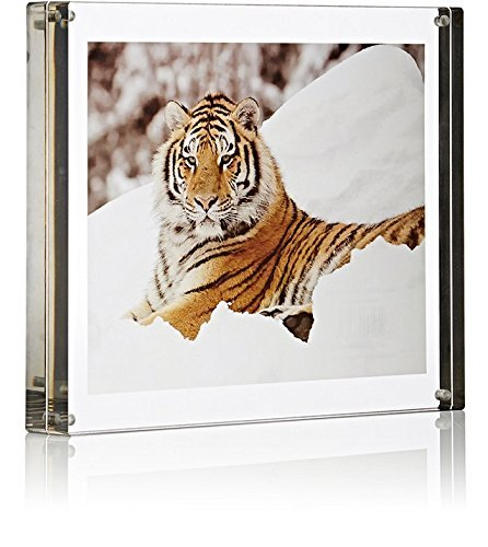 Color Edge Magnet Frame by Canetti-Graphite-5x7 inch by Canetti