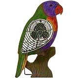 Deco Breeze DBF0110 Figurine Wooden Lorikeet Fan