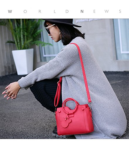 Crossbody Flap Women Bags Handbags Leather Mujer PU Bolsos Handbags Red HxZSw5Zq