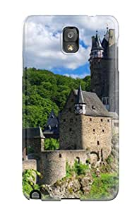 Hot Eltz Castle First Grade Tpu Phone Case For Galaxy Note 3 Case Cover