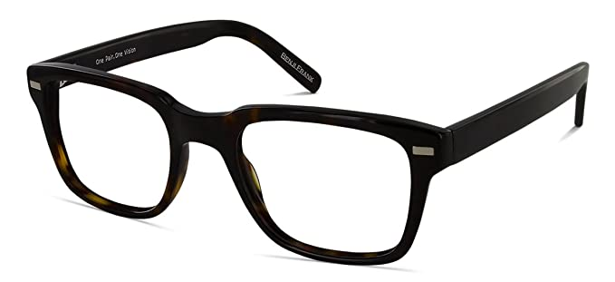 cdbe93c792 Benji Frank Reagan Buddy Holly with Retro Modern Square Black Frame for Men  Women 50mm New
