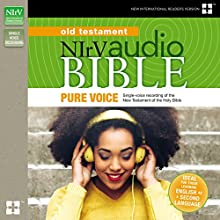NIrV Audio Bible Old Testament, Pure Voice Audiobook by  Biblica - editor Narrated by David Heath