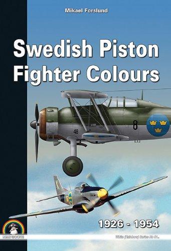 Swedish Piston Fighter Colours: 1926-1954 (White Series (Rainbow), Band 9117)