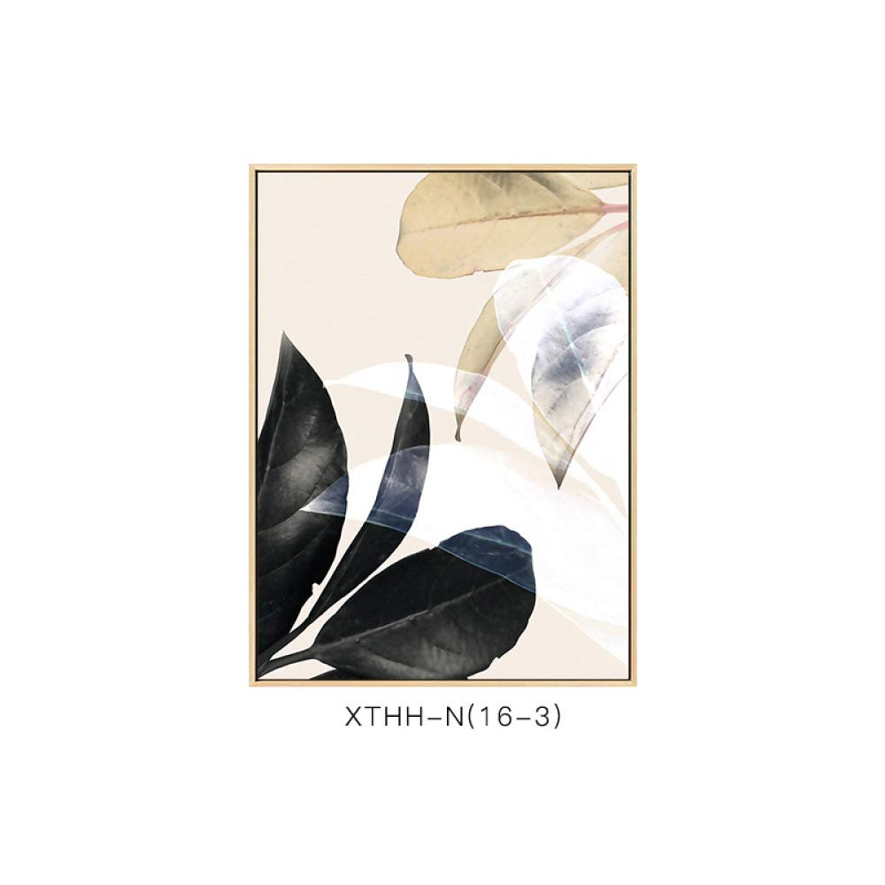 DEED Elegant Flowers Have Frame Paintings, Modern Minimalist Living Room Bedroom Porch Exquisite Style Literary Decorative Painting,C,5070cm by DEED