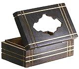 100% Wood Tissue Box Cover Holder Tissue Dispenser Rectangular Wooden Box