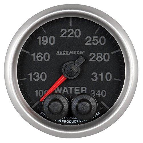 Auto Meter 5655 Elite 2-1/16'' 100-340 Degree Fahrenheit Water Temperature Gauge by Auto Meter (Image #1)