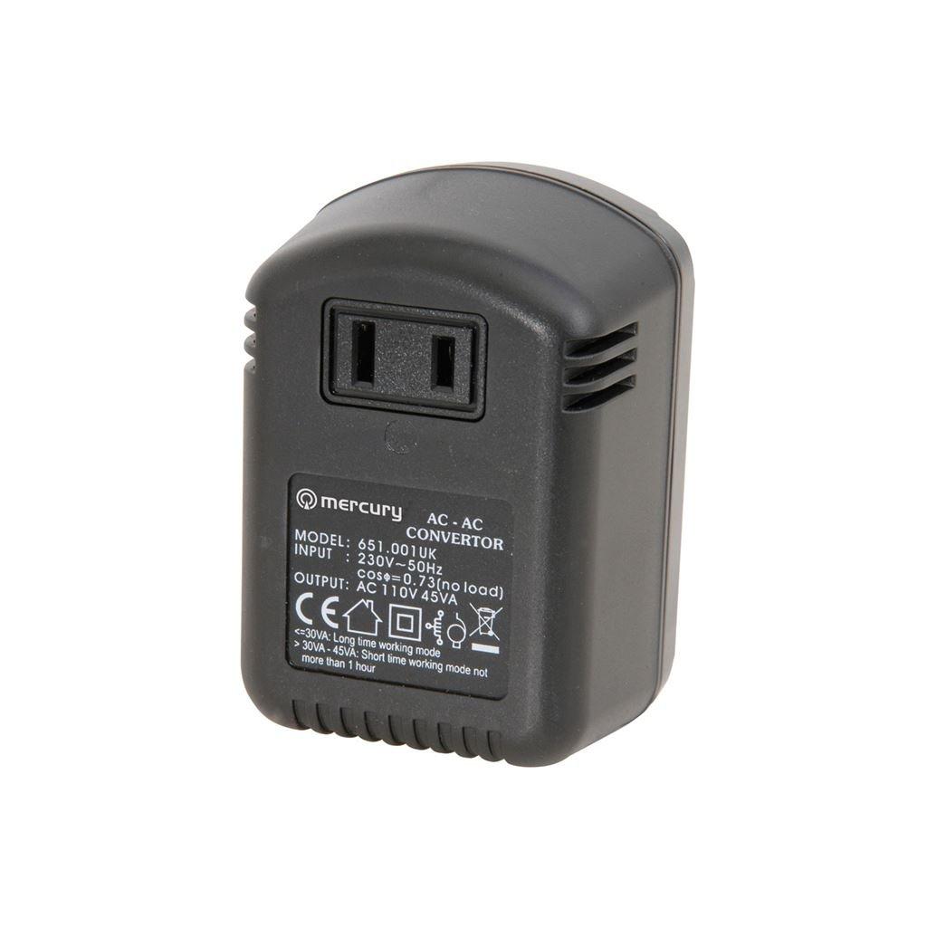 Stepdown voltage converter (UK version) 230V - 110V 45W