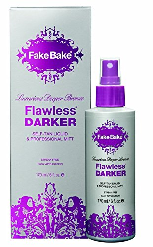 Self Tanning Liquid Flawless Darker by Fake Bake | Luxurious and Fast-Drying Solution that delivers the Beautiful...