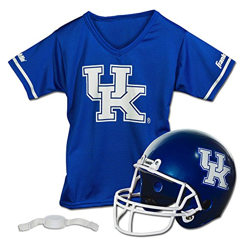 Franklin Sports NCAA Kentucky Wildcats Helmet and Jersey Set