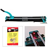 YaeTek 40 Inch Tile Cutter Machine for Large Tiles Handyman Ceramic Adjustable Professional Manual Tile Cutter Hand Tool