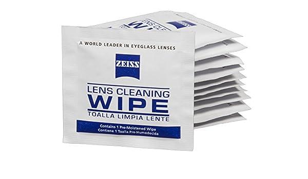 Zeiss Lente toallitas - 600 prehumedecidas Soporte para Gafas, diseño de Limpieza toallitas: Amazon.es: Electrónica