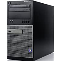 Dell Optiplex 990 Tower Business Desktop Computer, Intel Quad Core i5-2400 up to 3.4Ghz CPU, 8GB DDR3 RAM, 500GB HDD, DVD, VGA, Windows Professional (Certified Refurbished)