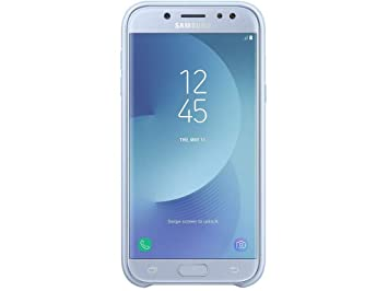 Samsung Dual Layer Cover - Carcasa Galaxy J3 2017, Color Azul ...