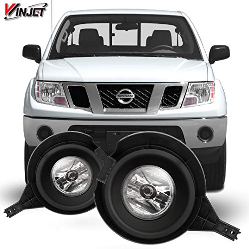 Winjet WJ30-0406-09 OEM Series for [2005-2016 Nissan Frontier] Driving Fog Lights + Switch + Wiring Kit