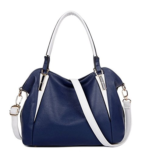 ATOLO Casual Fashion Style Shoulder Bag,Hand Bag ,Blue