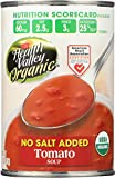 gluten free tomato paste - Health Valley Organic No Salt Added Soup, Tomato, 15 Ounce (Pack of 12)