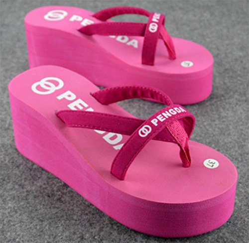 Beach Flops Straps Wedges Lady Sexy Flip Casual Comfortable Slippers Bettyhome Sandals Women Thongs Summer Bandage Rose PfAX4