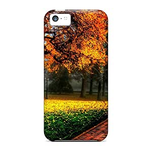 Johnlatisee FMlOphV6893xrBOY Case For Iphone 5c With Nice Park At Atumn Appearance