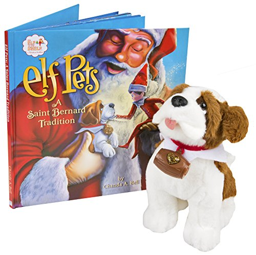 The Elf on the Shelf Pets: A Saint Bernard Tradition