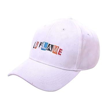 Hombre Mujer Unisex Gorra De Béisbol Moda Casual, LAFLAME Logo ...