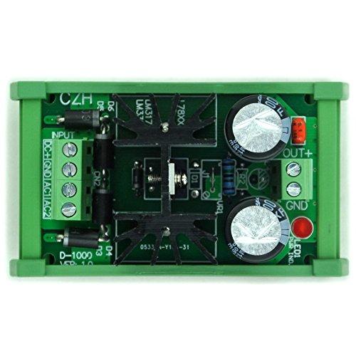 electronics-salon supporto DIN positivo regolatore di tensione 5/V DC modulo alta qualit/à.