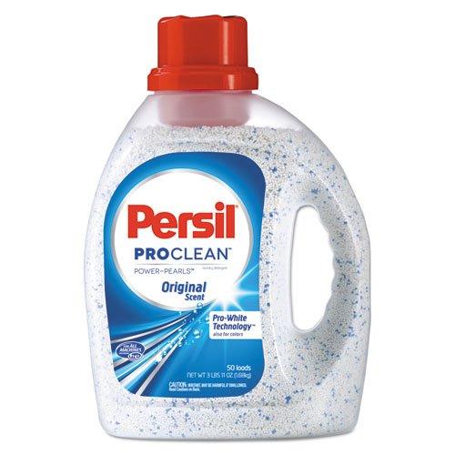 Persil Power-Pearls Laundry Detergent, Original Scent, 59 oz Bottle, 6/Carton