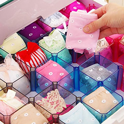 Free Combination Plastic Craft Beads Jewellery Storage Organizer Tool Box Case By Orangeskycn (Blue)