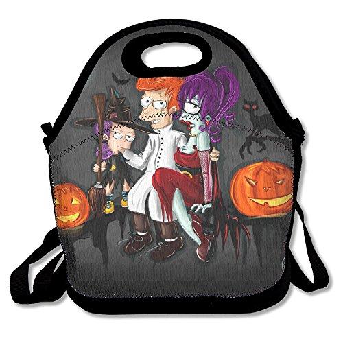 [Futurama And Halloween Casual Lightweight College Backpack Laptop Bag School Travel Daypack] (Futurama Leela Costumes)