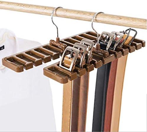 Amazon Com Hoocozi 2pcs Belt Organizer Rack Tie Hangers Closet
