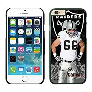 NFL Oakland Raiders Cooper Carlisle iPhone 6 Cases Black 4.7 Inches NFLIphoneCases13908 by kobestar
